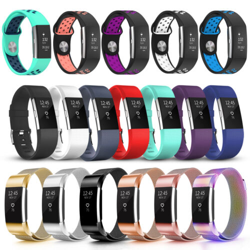 Fitbit Charge 2 Various Luxe Band Replacement Wristband Watch Strap Bracelet AU