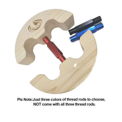 HAIBEIR New Wooden Hat Stretcher with Alunminium Alloy Buckle Adjust to All Hats
