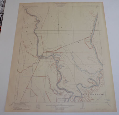 1910 Topographic Map of KNIGHTS LANDING QUADRANGLE, CALIFORNIA/Sutter/Yolo