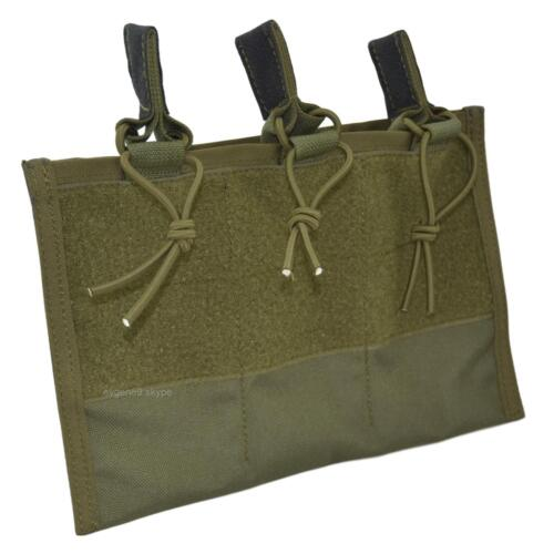 "SPOSN 3 Mags Insert Pouch with Hoop and Loop for Shell ""Pantsir"" Plate CarrierPouches - 158437"