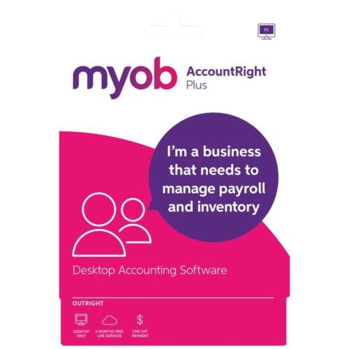 MYOB AccountRight Live Plus - 12 Month Subscription (Download) Australia Only