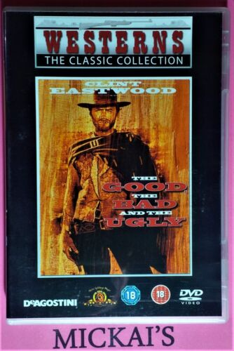THE GOOD, THE BAD AND THE UGLY WESTERNS THE CLASSIC COLLECTION WTCCN02A DVD PAL