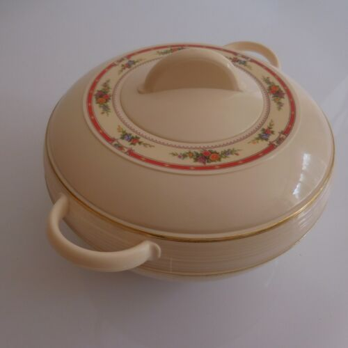 Soupière tureen vintage ASIAN made in India art déco design PN France