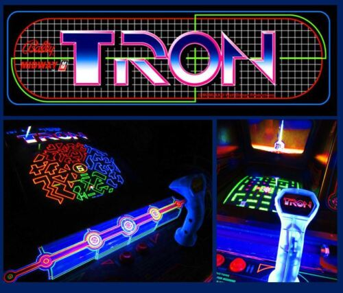 Top Holiday Gifts Arcade Machine,-Coin Operated,-Amusement,- Bally Midway,-,Tron,-,Refurbished/New