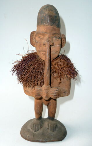 Middle Sepik Ancestor Figure Papua New Guinea Old Item