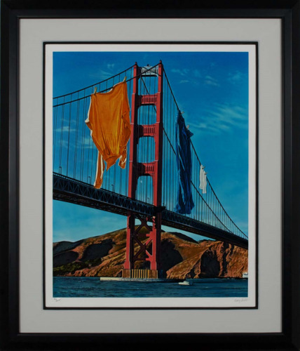 Doug Webb - Wash and Where, hand-signed serigraph, Framed