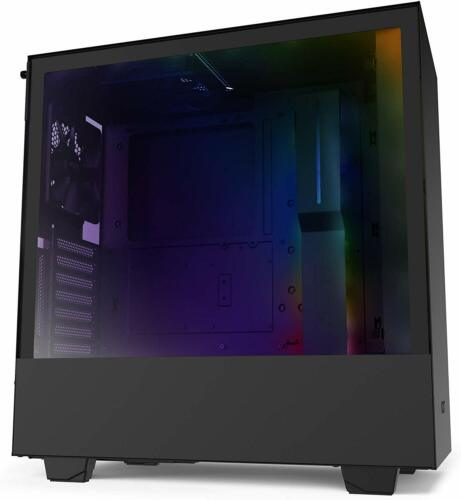 NZXT H510i Tempered Glass Matte Black Mid Tower ATX Gaming Window Case