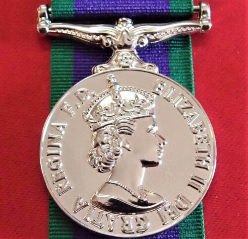 GENERAL SERVICE MEDAL 1962 ARMY NAVY AIR FORCE REPLICA AUSTRALIAN SERVICE ANZACOther Eras, Wars - 135