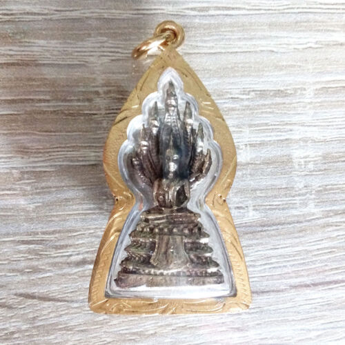 Thai Amulets for Saturday born Buddha Nagas Pendant Sacred Protect Lucky DBC
