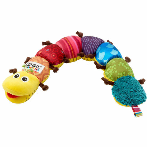 Lamaze Musical Inchworm Sounds Measure Infant Baby Developmental Growth Toy