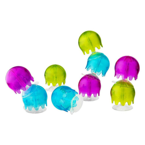 9pc Boon Jellies Suction Cup Bathroom Bath Tub Toys for Baby Kids Toddlers