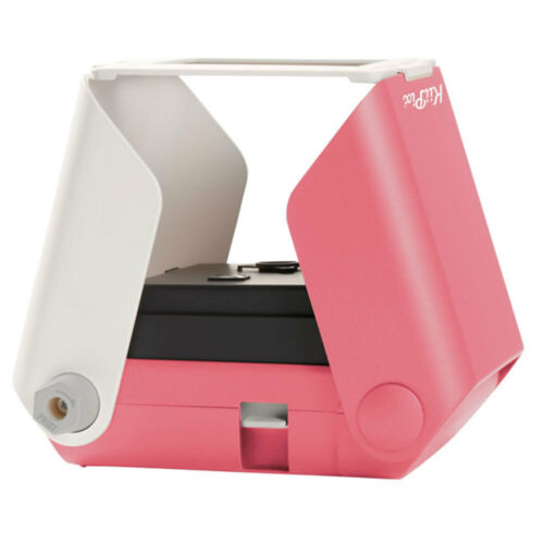 Tomy KiiPix Smartphone Instant Picture Photo Printer Foldable Portable Cherry Bl