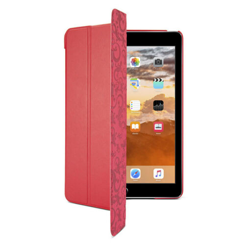 Gecko Red Slim Auto Sleep Case Cover Protector With Stand For Apple iPad Air 2
