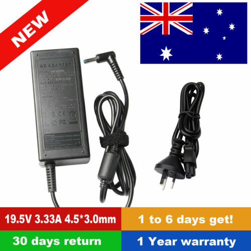 Laptop AC Power Adapter Charger 65W for HP 710412-001 714657-001 714159-001