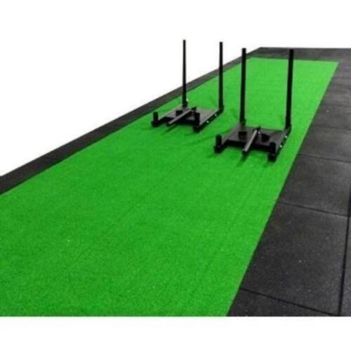 Morgan Green Astro Turf 10m x 2m 1.5cm Prowlersled Base Material Training Workou