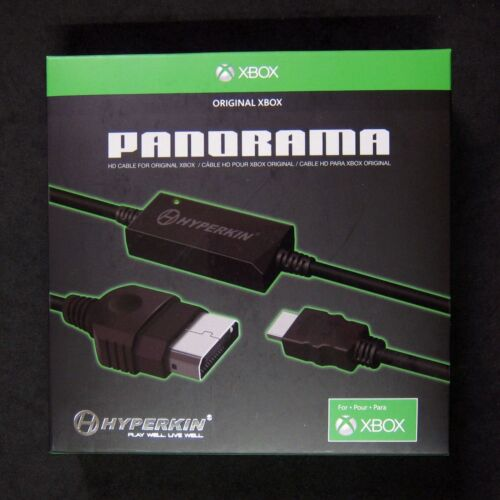 Brand New Official Licensed Hyperkin Panorama HD HDMI Cable for Original Xbox