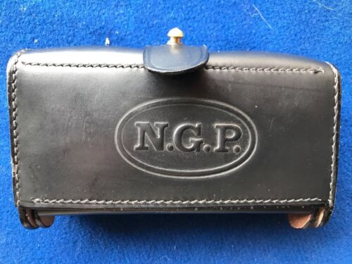 NGP M1874 McKeever Leather Ammo Pouch Type 2 for .45-70 Springfield SAWReproductions - 156384
