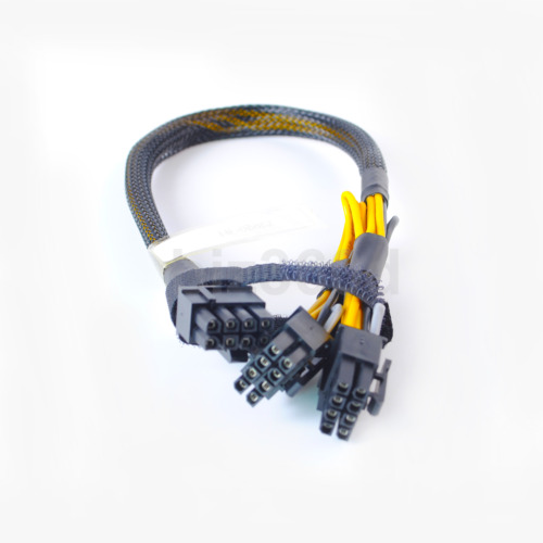 35cm 8pin to 8pin+8pin Power Adapter Cable for IBM X3650 M4 M5 to GPU video card