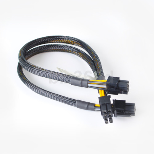 35cm 8pin to 6pin+6pin Power Adapter Cable for IBM X3650 M4 M5 to GPU video card