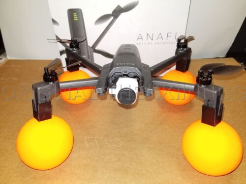 Parrot Anafi WATER MOD protector Neon EDITION DRONE Orange color float ANAFI