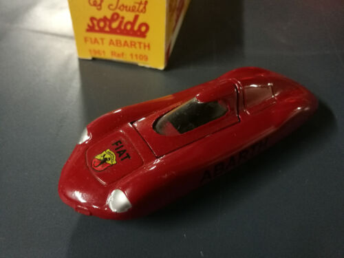 SOLIDO  REEDITION  FIAT  ABARTH  COMPETITION