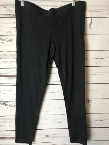 Old Navy Gray Maternity Light Weight Front Low-Panel Leggings--NWT--Large/L