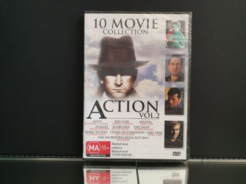 10 Movie Collection Action Vol 2 DVD Video *NEW/Sealed