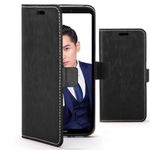 Huawei Honor Note 10 Case Handmade PU Leather Premium Flip Cover Wallet Stand