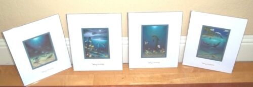 By Wyland Double Matted LOTWith Silver Foil Stamp READY FOR FRAME