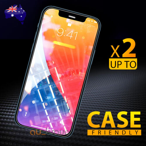 Tempered Glass Screen Protector Apple iPhone 11 Pro XS Max XR 8 7 6S Plus 5S SE
