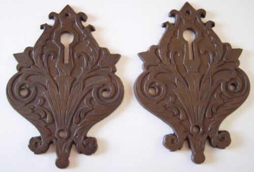 Reproductions of Antique c.1870 Russell & Erwin Door Keyhole Plate / Escutcheons