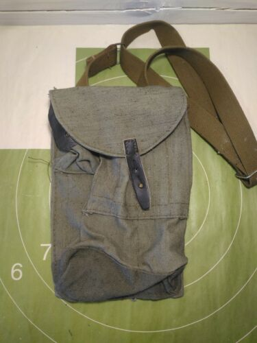 Authentic Russian Classic 4 Cell Ammo Pouch USSR Ammunition Bag with pocketOther Militaria - 135