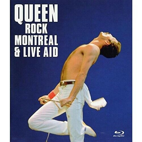 QUEEN - ROCK MONTREAL & LIVE AID  BLU-RAY NEW!