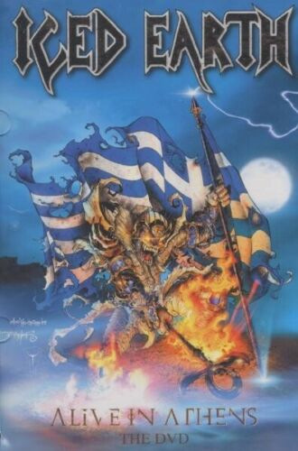 ICED EARTH 'ALIVE IN ATHENS' DVD NEW!