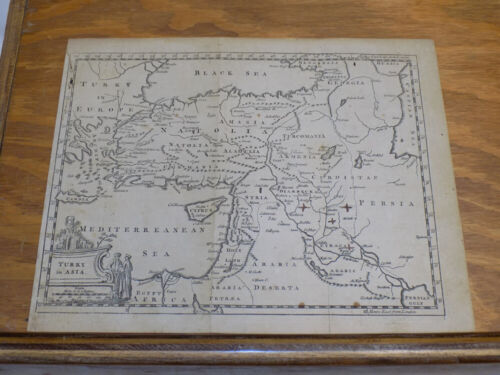 Late 1700s Antique Map //// TURKY (TURKEY) IN ASIA
