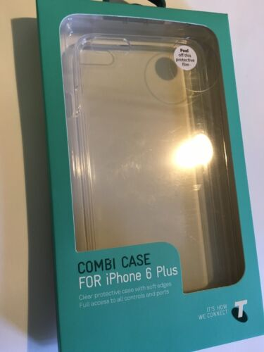 iPhone 6 Plus, 6S Plus TPU Combi Protector Case Clear TELBMT0014. Brand New pack