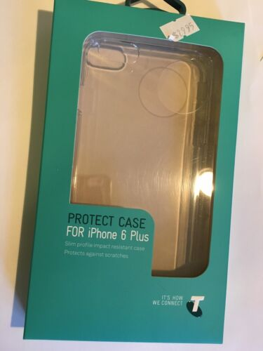 iPhone 6 Plus, 6S Plus Crystal Hard Protector Case in Clear TELCAS0020 Brand New