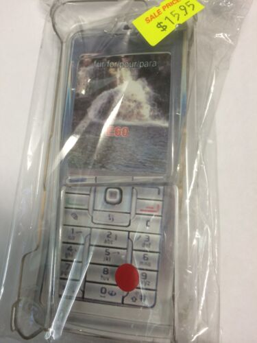 Nokia E60 Crystal Hard Case in Clear CPC4236. Brand New in packaging.