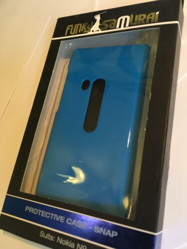 Nokia N9-00 Fitted Hard Case Blue + Screen Protector. Brand New in Original Pack