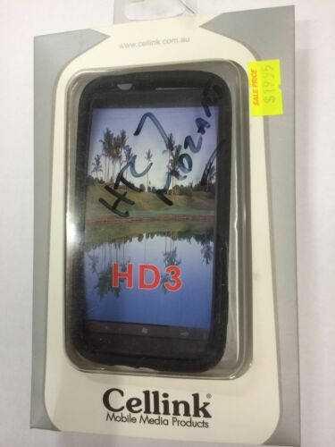 HTC 7 Mozart,T8697,HD3 Silicon Case - Black SCC5380BK Brand New in the packaging