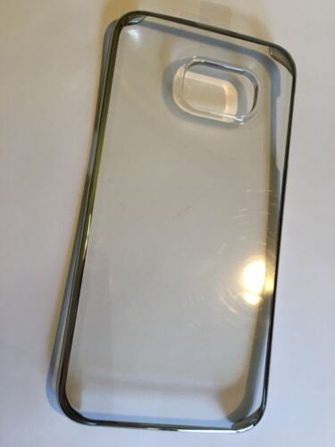 Samsung Galaxy S6 Edge TPU Protect Slim Cover Clear SCC6E0075SVT Brand New pack
