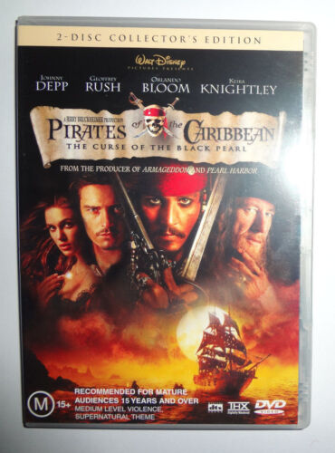 Pirates of the Caribbean - The Curse of the Black Pearl    [Movie - 2 DVD's]