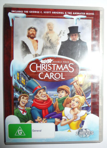 Christmas Carol : Double Pack   [Movie - 2 DVD's - Rated G]