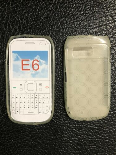 Nokia E6-00 TPU Flexi Case in Clear LTF-NOKE6-00 by Beyond Brand New sealed pack