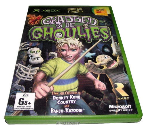 Grabbed by the Ghoulies XBOX PAL *Complete*