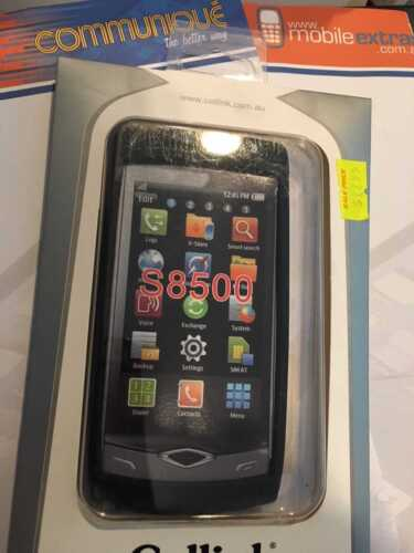 Samsung S8500 Wave Silicon Case in Black SCC6404BK Brand New Sealed in packaging