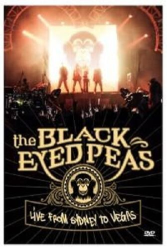 BLACK EYED PEAS 'LIVE FROM SYDNEY TO VEGAS' DVD NEW!
