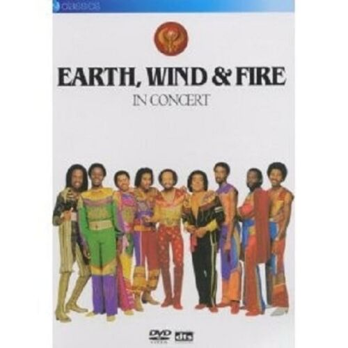 """EARTH, WIND & FIRE """"IN CONCERT"""" DVD NEW!"""