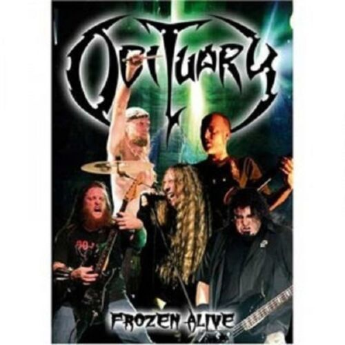 OBITUARY 'FROZEN LIVE' DVD+CD DIGIPACK LIMITED NEW!!