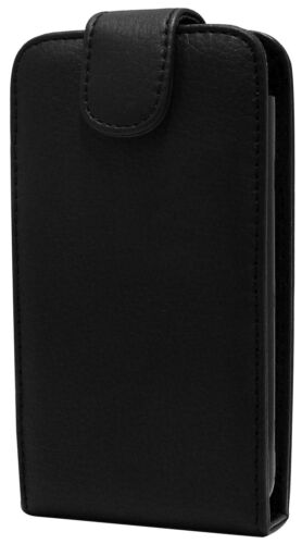 Nokia N97 Mini Fitted Leather Flip Wallet Case Black. Brand New in Original Pack
